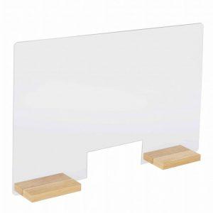 Counter screen design solid oak