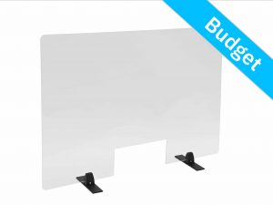 Counter screen budget table support black