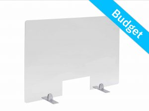 Counter screen table support silver 2