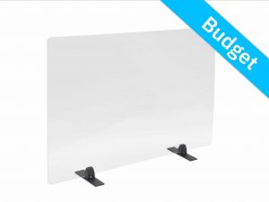 Office screen budget table support black