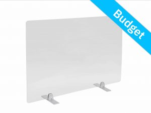 Office screen budget table support silver